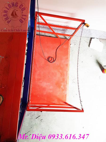 thang nâng thủy lực 500kg