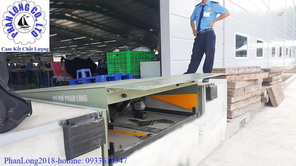 sàn nâng hàng - dock leveler