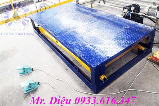 ban nang thuy luc len container