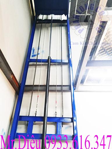 phần thủy lực thang nâng thủy lực 500kg