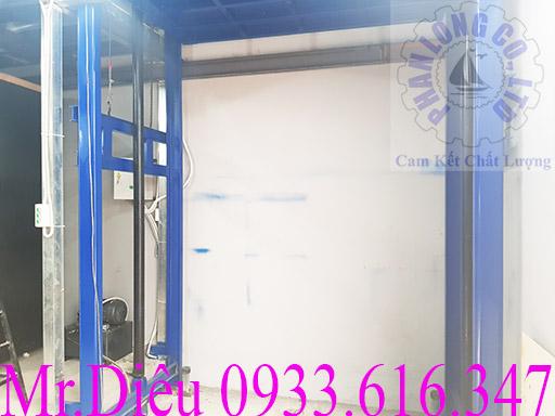 hệ thống điện thang nâng thủy lực 500kg